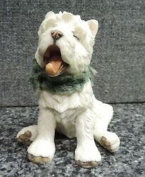 Country Artists Westie Terrier Dog Figure Clean Puppy Yawing 03739
