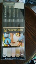 Chameleon SkinTones Set of 5 markers CT0510 Color Tones Markers. FREE SHIPPING!!