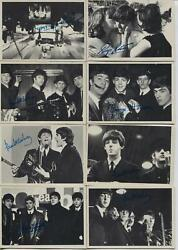 Beatles 2nd Series Trading Cards 1964-topps-lot Of 22 Bandw Cards-vg