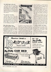 1959 Paper Ad Daisy Toy Model 88 Hunter Air Rifle Bb Gun Article Promotion