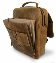 Handmade Leather Messenger Bag Laptop BACKPACK Mexico