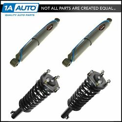 Monroe Quick Struts Reflex Shocks Front And Rear Kit Set Of 4 For Grand Cherokee