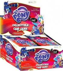 My Little Pony Collectible Card Game Canterlot Nights Booster Box [36 Packs]