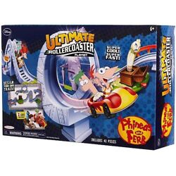 Disney Phineas And Ferb Ultimate Rollercoaster Playset