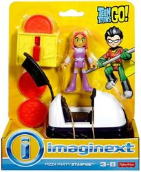 Fisher Price Teen Titans Go Imaginext Pizza Party Starfire 3-inch Figure Set