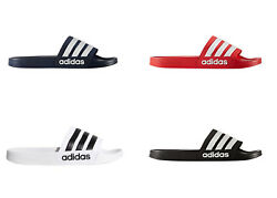 Adidas Men's Adilette Slides  Sandal Shoe Navy Red Black or White