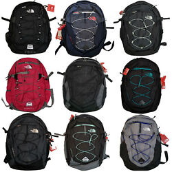 New The North Face Borealis School Backpack Womens Laptop Bag Daypack TNF Black