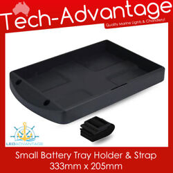 New Next Generation Small Battery Tray Holder And Strap - Boat/caravan/tractor