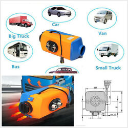 Car Trailer 12V 3KW-5KW Adjustable Air Diesel Heater LCD+Switch+Remote+Silencer