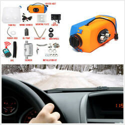 Universal 3KW-5KW Adjustable Car Van Air Diesel Heater+LCD Switch+Remote Control