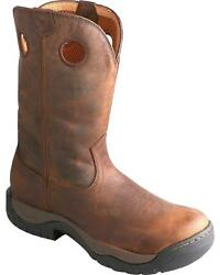 Twisted X Taupe Waterproof All Around Cowboy Boot - Round Toe - Mabw001