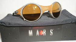 Oakley Sunnglasses New Mars Leather Gold Iridium 04-104 serial M*016035 Jordan