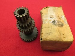Nos Ford Truck Transmission Cluster Gear Tooth Count 29-24-17-15 Part 1-67-7113