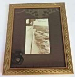 Titanic Rms Carpathia Gloss Signed Photo Postcard 6 Of 100 Certified Framed