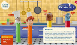 Pez - Ratatouille Series - Choose Character And Condition From Pull Down Menu