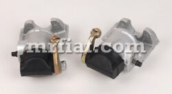 Fiat 124 Coupe Spider Rear Brake Calipers Set New