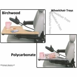 Open Box - Mini Lap Tray Attaches To Chair Armrest On Left Side