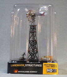 Woodland Scenics Old Windmill Built And Ready Ho Scale Gauge Scenery Farm Wds5042