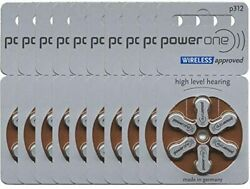 Power One Size Size 312 Hearing Aid Batteries, 20 Packs Total Of 120 Batteries