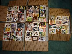 Huge Lot Of 3500+ Baseball Cards 1980and039s - Present - Lots Of Rookies And 2000and039s