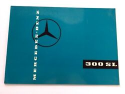 1959 Mercedes Benz 300sl Roadster Gullwing Coupe Deluxe Sales Brochure Catalog