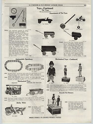 1919 Paper Ad Charlie Chaplin Mechanical Toy Coon Jigger Boxers Auto Van Us Mail