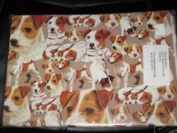 Jack Russell Terrier JRT DOG Wrapping Paper 4 Sheets 19.5
