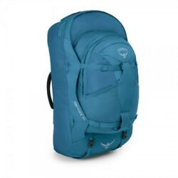 New Osprey Farpoint 55L Caribbean Blue SM Backpack Only - NO DAY PACK