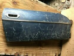 Triumph Stag Right Door Or Parts From Door From Us Car.