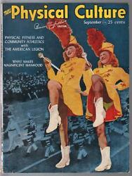 Physical Culture 9/1947majorette Photo Cover-physique Pix-peter Lawford-fn