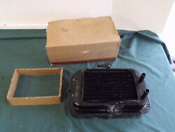 NOS 1956 Ford Air Conditioning Firewall Spacer & Heater Core AC OEM FoMoCo 56
