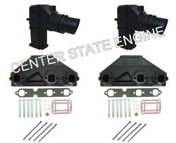 4.3l 262 Volvo Penta/omc Style Exhaust Manifold And Riser Kit. X-tra Tall 3862627