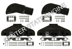 5.0l/5.7l Volvo Penta/omc Exhaust Manifold And Elbow/riser Kit. Years 1992-older.