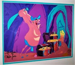 """""""hassans Chopping Spree"""" Hand Signed Limited Edition Cel Bugs Bunny Looney Tunes"""