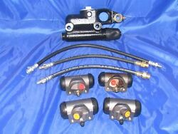 Brake Master And Wheel Cylinders And Brake Hoses 49 50 51 Ford New 1949 1950 1951