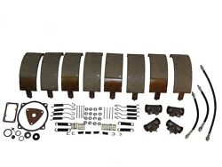 Deluxe Brake Kit With Shoes And Wheel Cylinders 59 60 Lincoln New 1959 1960