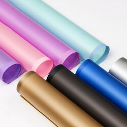20 Sheets of Wrapping Papers w Border for Flower Bouquet Various Colors