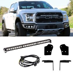 For Ford F-150 17 Grille Mounted S8 30 Light Bar Kit