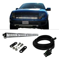 For Ford F-150 10-14 Light Bar Kit Grille Mounted OnX6 40