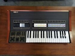 Vintage Korg Sigma Synth wCover and Manual *Rare*