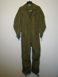 Army Combat Vehicle Crewmanand039s Coveralls Fire Resistant 1985 Small Regular U-11