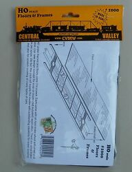 Freight Car Floors Frames Ho 187 Scale Rail Layout Diorama Central Valley 1000
