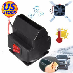 200W 12V Vehicle Car Auto Heater Warming Heating Fan Defroster Demister US