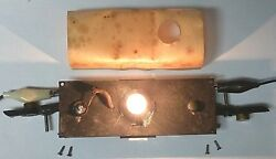 American Flyer No. Pa-8987 Die Cast Caboose Frame - Trucks And Lamp Assembly