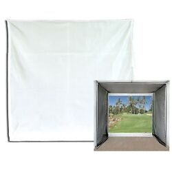 Golf Impact Projection Screen 10and039 X 10and039 Baffle Only
