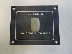 Lorco 120 Volts Ac Shore Power Switch Panel Marine Boat