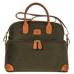 Bric's Life Tuscan Train Bag Cosmetics Case Olive 2.0