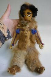 Antique Early 20th Century Alaskan Native Doll