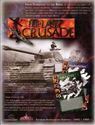 Sale The Last Crusade Ww2 Card Game Tcg/ccg 1995 Rare Out Of Print