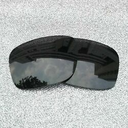 2 Sets of Black Polarized Replacement Lenses For-Oakley Fuel Cell Frame OO9096
